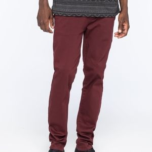 RSQ SLIM STRAIGHT CHINOS